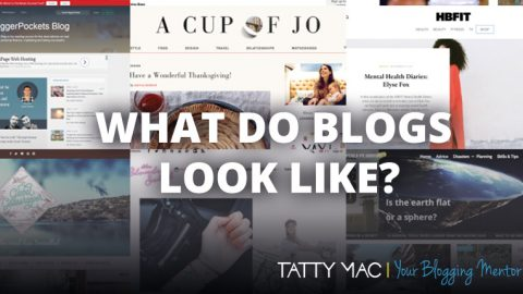 What do blogs look like?